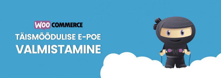 WooCommerce e-poe valmistamine