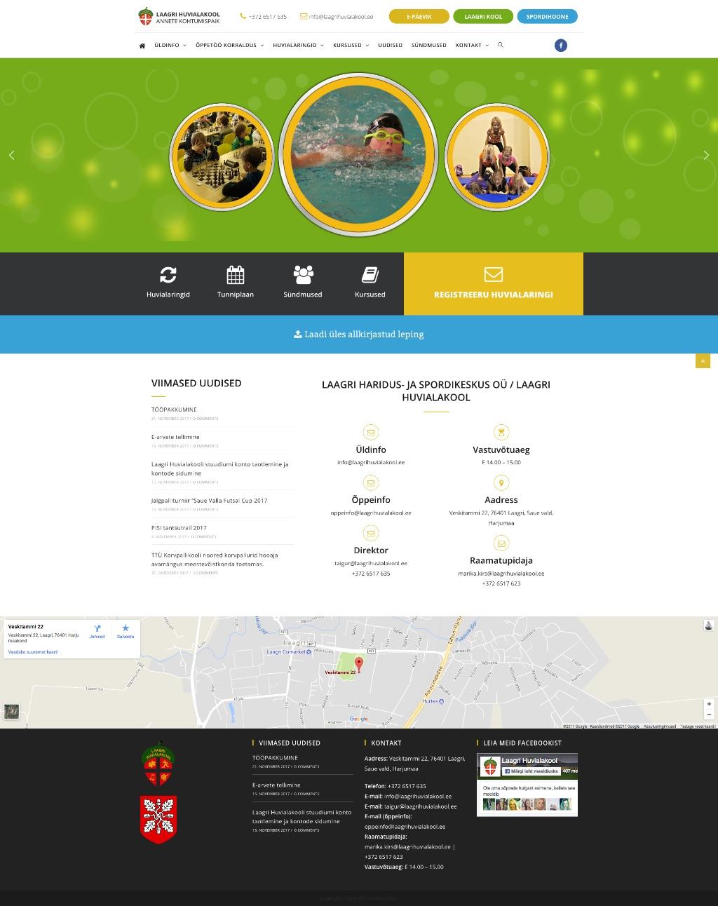 Veebilehtede tegemine » Valik meie tehtud kodulehti