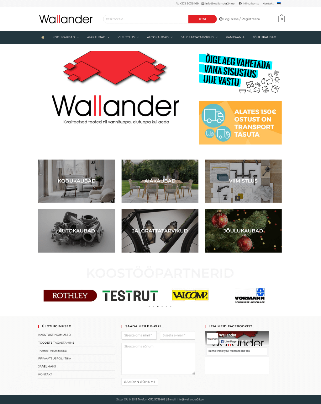 Wallander24 epood